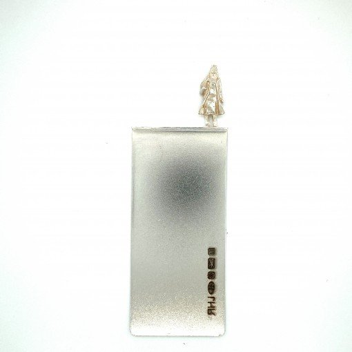Silver Bookmark called Harriett by Rebecca Joselyn by Sheffield Silversmith and Jeweller Made in Sheffield South Yorkshire