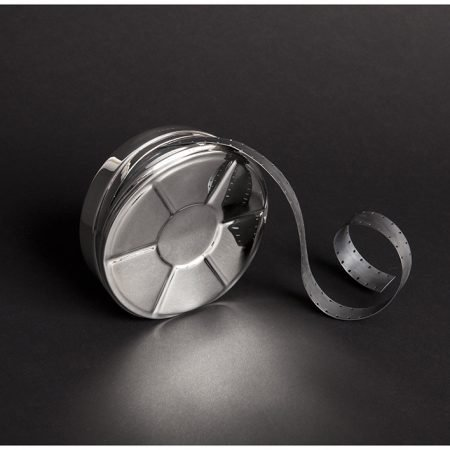 Commission - Silver 'Film Canister' by Rebecca Joselyn Silversmith and Jeweller Made in Sheffield South Yorkshire