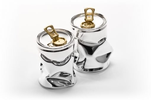Silver 'Tonic' Salt & Pepper Set by Sheffield Silversmith and Jeweller Rebecca Joselyn