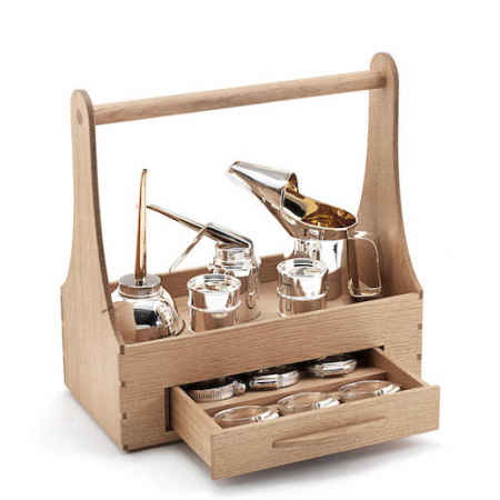 Signature Piece 'The Toolbox' by Sheffield Silversmith and Jeweller Rebecca Joselyn