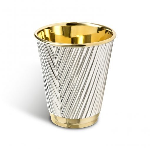 Silver 'Coffee Cup' Beaker by Rebecca Joselyn Silversmith and Jeweller handmade in Sheffield South Yorkshire