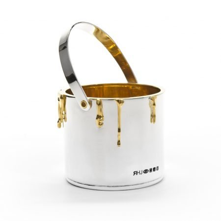 Silver 'Paint Pot' Sugar Bowl by Rebecca Joselyn Silversmith and Jeweller handmade in Sheffield South Yorkshire