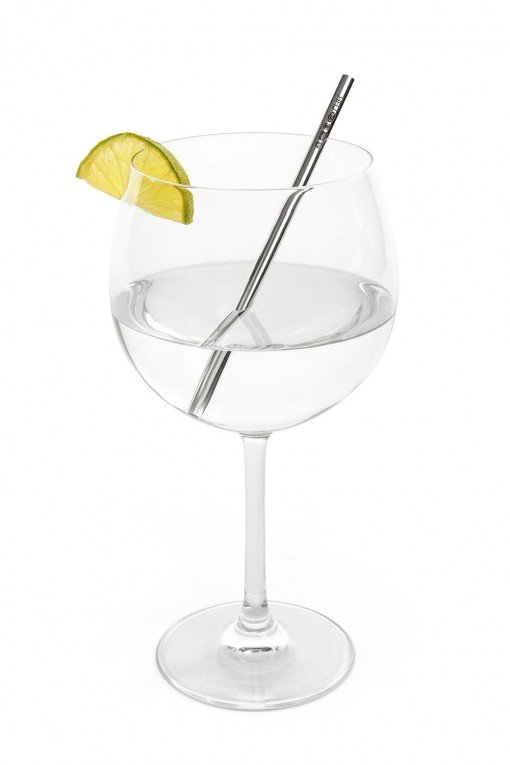 Sheffield Silversmith and Silver Gin Straw by Sheffield Jeweller and Silversmith Rebecca Joselyn
