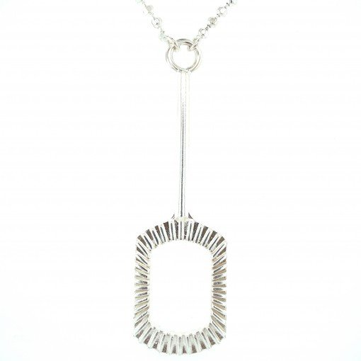 Bubble Blower Pendant in Silver by Sheffield Silversmith and Jeweller Rebecca Joselyn