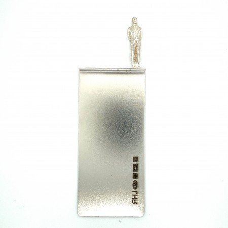 Silver Bookmark called Harry by Sheffield Silversmith and Jeweller Rebecca Joselyn